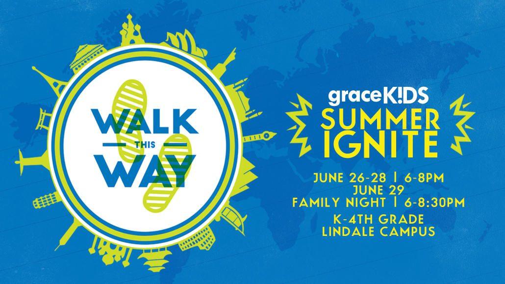 Grace KIDS Summer IGNITE | LINDALE
