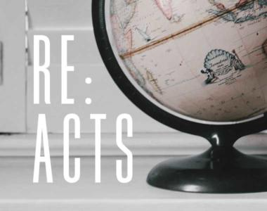 Re:Acts // His Increase, Your Decrease