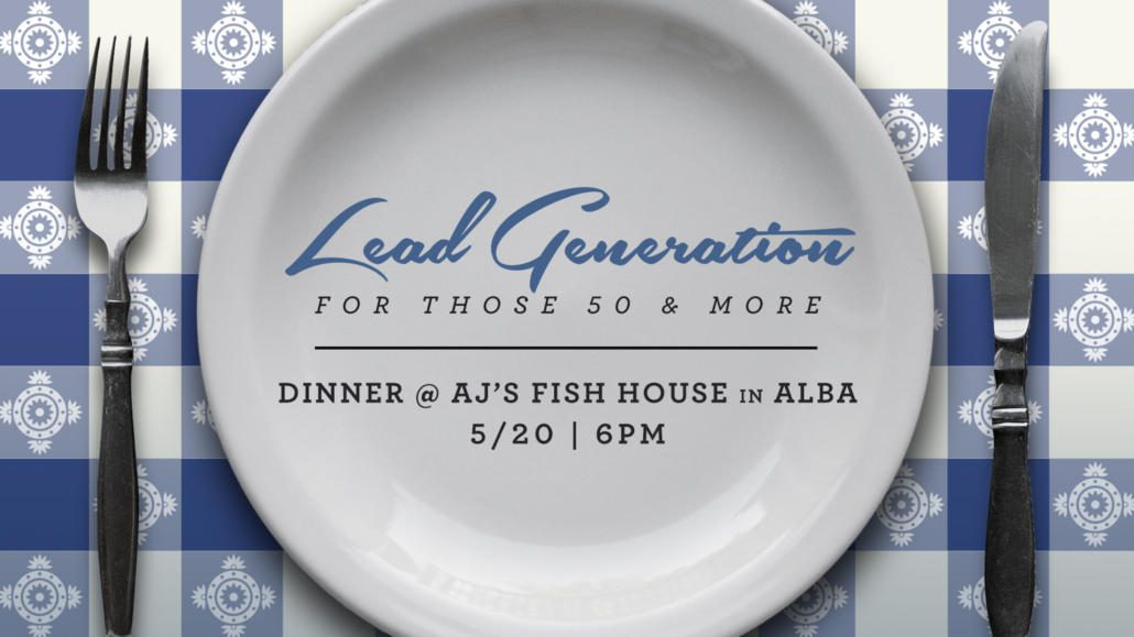 Lead Generation Dinner May 2017