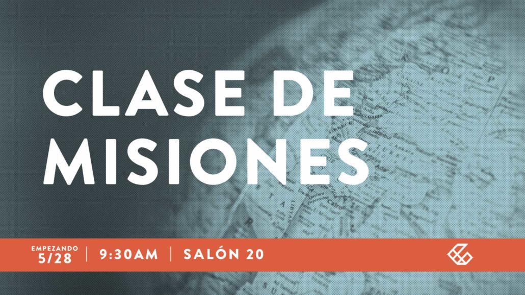 CLASE DE MISIONES
