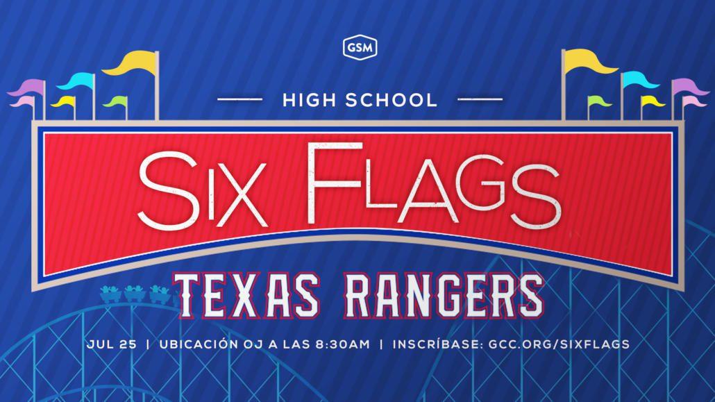VIAJE A SIX FLAGS Y RANGERS GAME