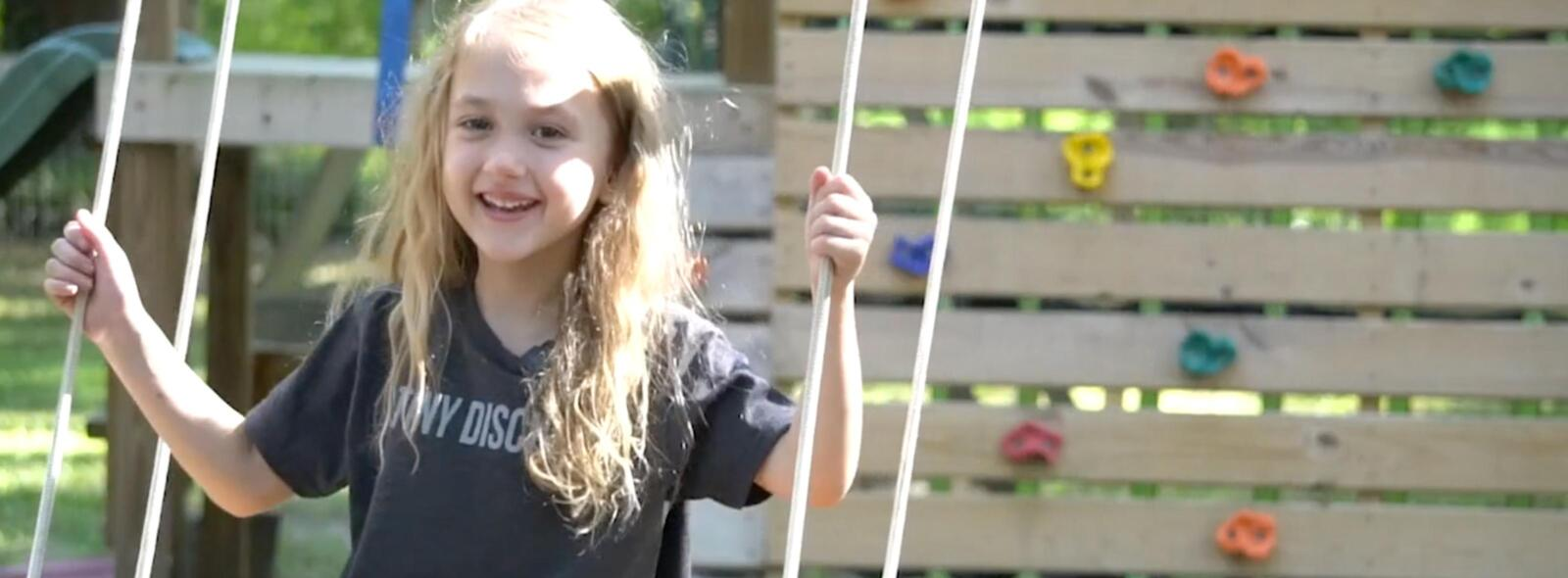 Annalee Full baptism Video during COVID