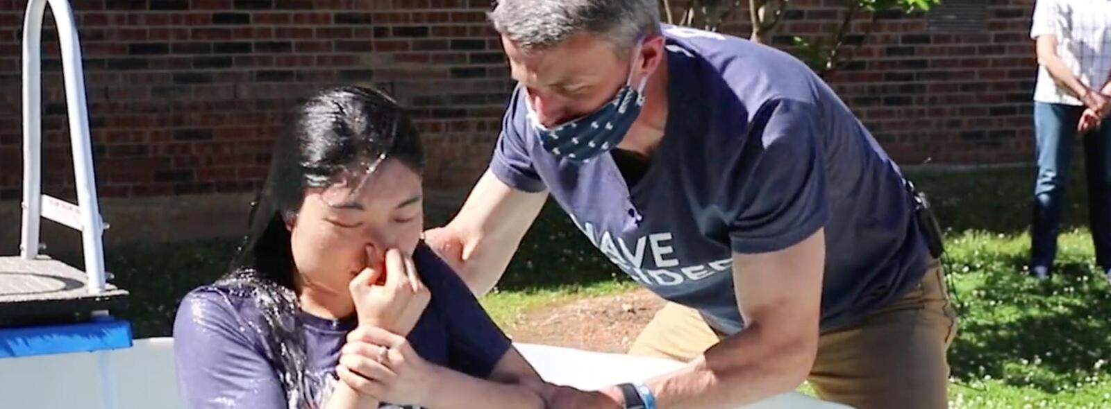 Full baptism Cindy – COVID-19 Times