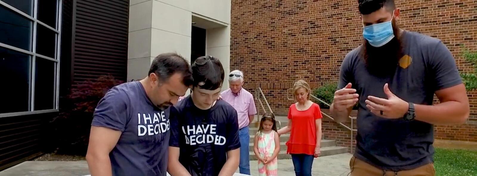 Full baptism Jackson – COVID-19 Times